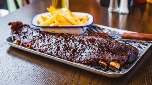 Beef Sheet Ribs - American BBQ Smokehouse restaurant