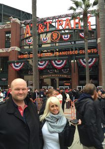 Outside AT&T Baseball Park - Home of the San Francisco Giants