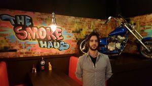 Jon at the Smoke Haus