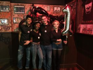 the smoke haus first birthday