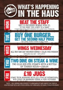 July 2019 Offers at The SmokeHaus